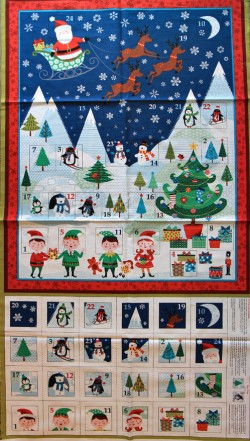 Makower - Frosty Advent Calendar